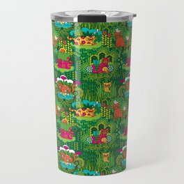 Lords of the Jungle Travel Mug