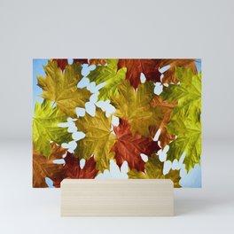 Autumn Leaf Brite Mini Art Print