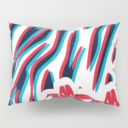 Lillys and Zebras Pillow Sham