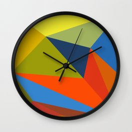 abstract geometric design for your creativity    Wall Clock