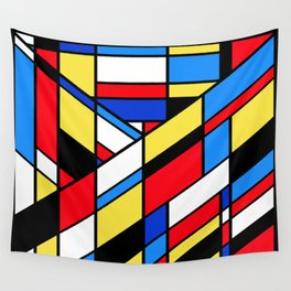 The Color Cubes - 2A Wall Tapestry