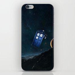 tardis doctor who iPhone Skin