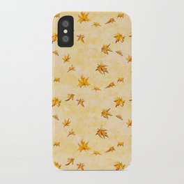 Leaves pattern iPhone Case