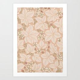 "William Morris ""Bramble"" 1. Art Print"