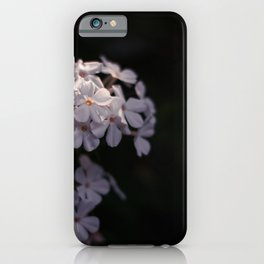 Shining in the darkness iPhone Case