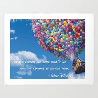 Pursue Your Dreams Art Print