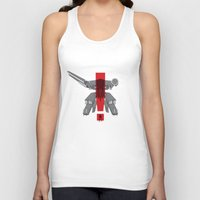 metal gear solid Tank Tops featuring Metal Gear Solid Movie Poster by TrueCold
