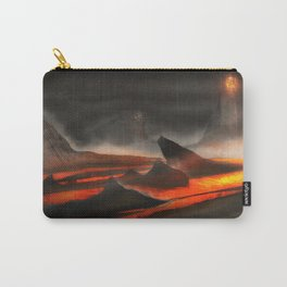 Lava Fountain | Environmental Concept Game Art Carry-All Pouch
