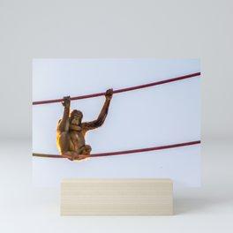 On the Wire Mini Art Print