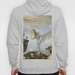 Wonderful fairy  on the rock Hoody