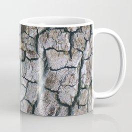 Cracked Bark Texture Coffee Mug