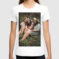 fairies T-shirts featuring Forest Fairies by Frances Dierken
