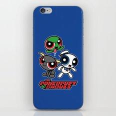 The Powerpuft Ghouls iPhone & iPod Skin