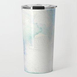 Colored Sky Watercolor Painting Travel Mug