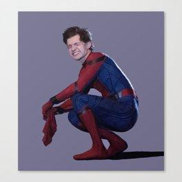 peter parker Canvas Print