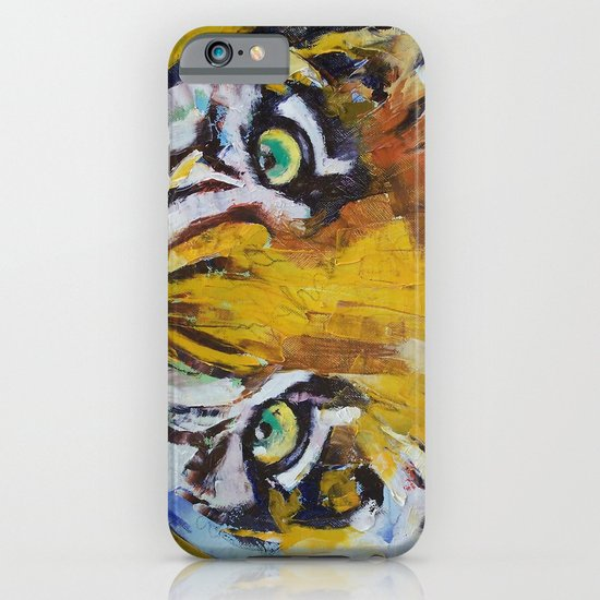 Tiger Psy Trance iPhone & iPod Case