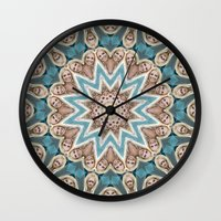 britney Wall Clocks featuring Britney Spears by Celebrity Mandala