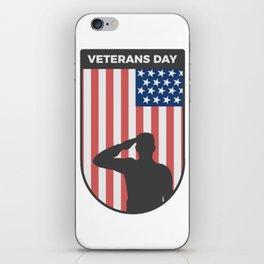 Veterans Day Commemorative Design iPhone Skin