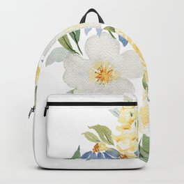Paper White Backpack
