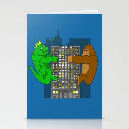 RAMPAGE Stationery Cards
