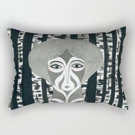 Birch witch Rectangular Pillow