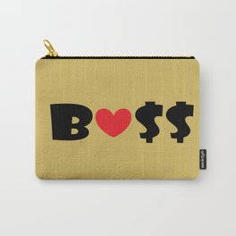 Boss (gold) Carry-All Pouch