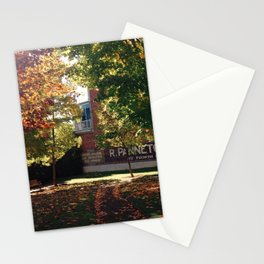 Golden Rays, Golden Leaves Stationery Cards