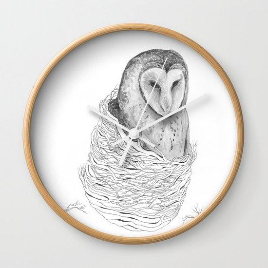 The Owl - Tangled Wall Clock