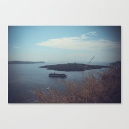 Santorini, Greece 15 Canvas Print