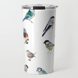 I love birds Travel Mug