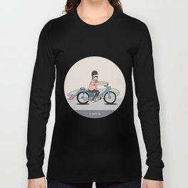 Honda C-70 Long Sleeve T-shirt