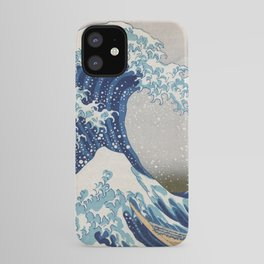 Under the Wave off Kanagawa Japanese Art iPhone Case