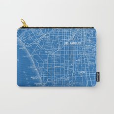 Los Angeles Street Map Carry-All Pouch