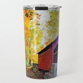 Autumn in New England Travel Mug