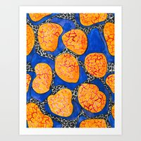 memphis Art Prints featuring Memphis by The Patternbase