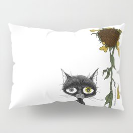 Sad is one complicated emotion of a cat! Pillow Sham