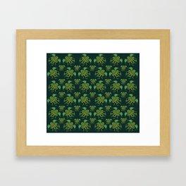 CTHULHU PATTERN Framed Art Print