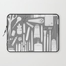 Art Mind Heart Body (blue-gray, dark gray, black) Laptop Sleeve