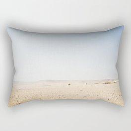 Tiny camel in Egypt Rectangular Pillow