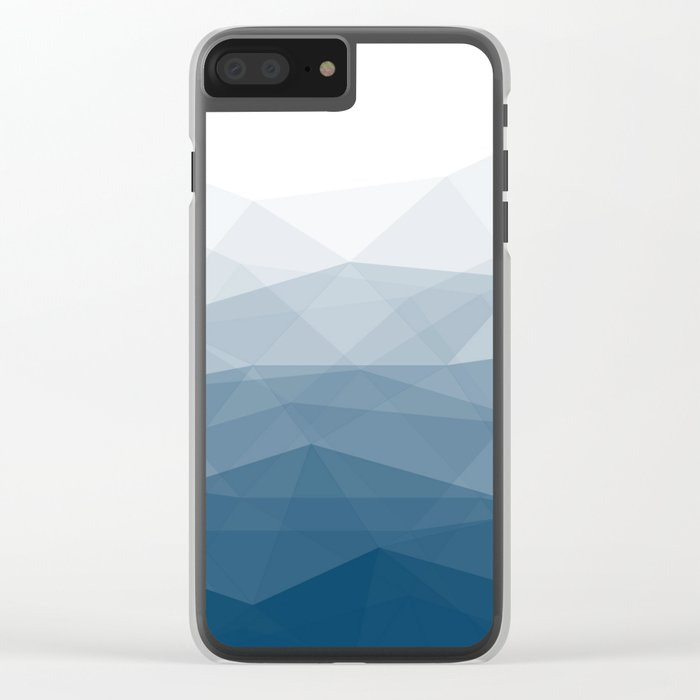 Mountains Calling Clear iPhone Case