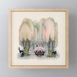 Hidden Dwelling Framed Mini Art Print