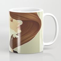 lace Mugs featuring Lace by Jumei