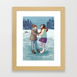 Shingeki No Christmas - Mikasasha Framed Art Print