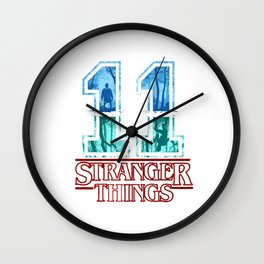 Stranger Thing Eleven Wall Clock