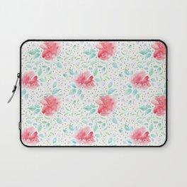 Botanical pattern with rosetail bettas Laptop Sleeve
