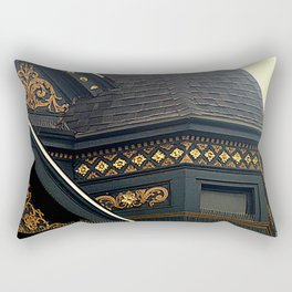 Old Brass With Top Gold - Nailed It Rectangular Pillow