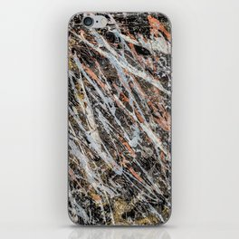 Copper ore iPhone Skin