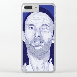 #TITANS SERIES: THOM YORKE Clear iPhone Case