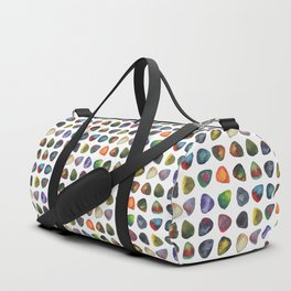 Guitar Picks Watercolor Duffle Bag