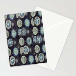 Pies in Mod style / colour 02 Stationery Cards
